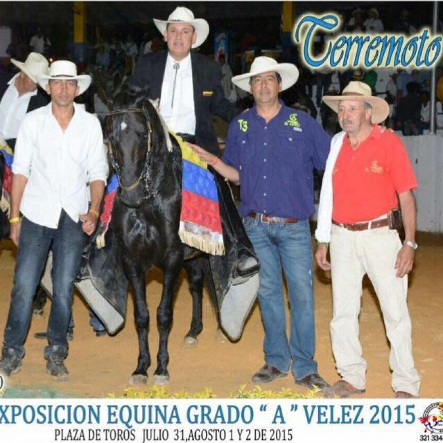 Terremoto III Gran Campeón, Velez Santander