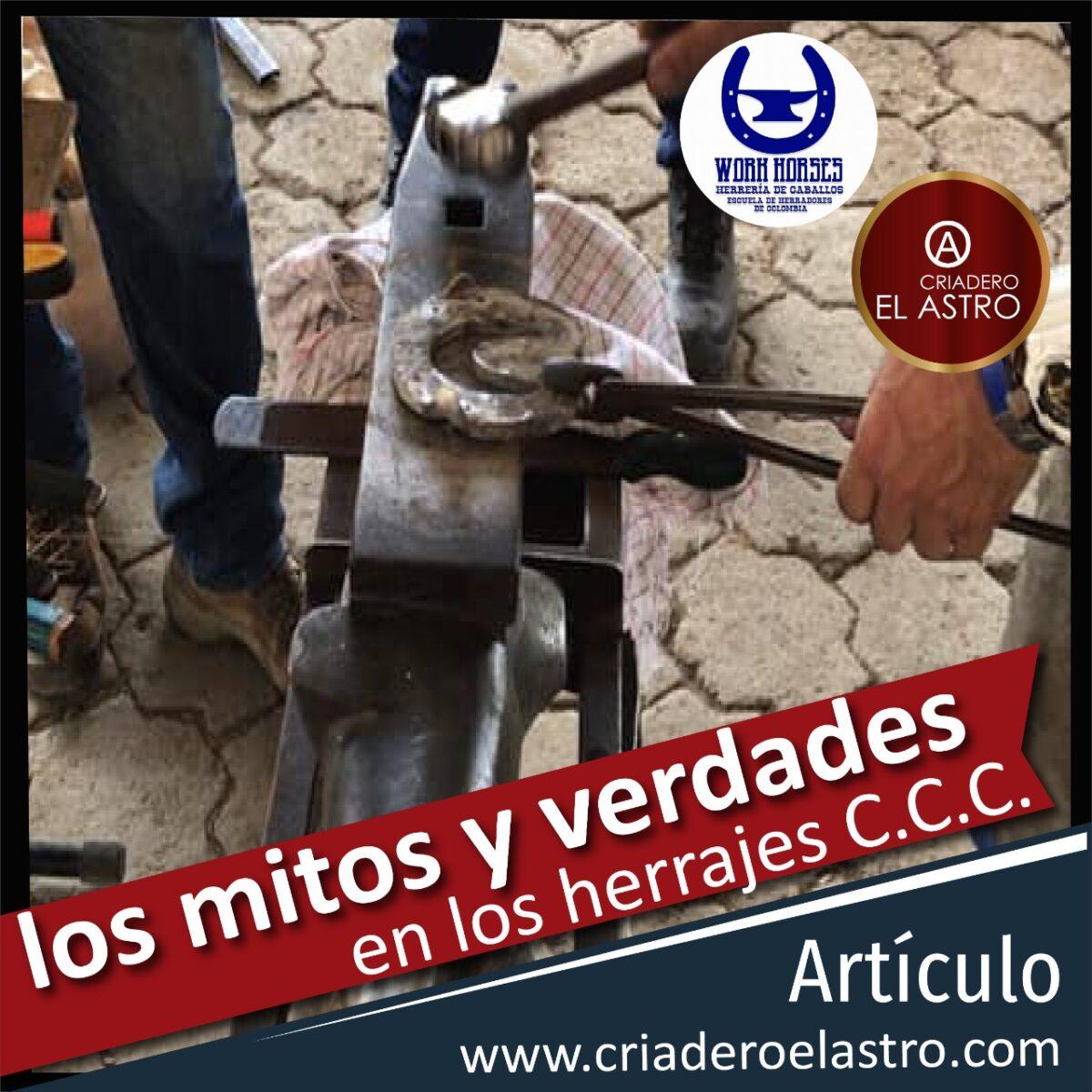 Mitos del herraje del caballo criollo colombiano